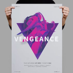 Vengeance Poster Flyer by ninebrains